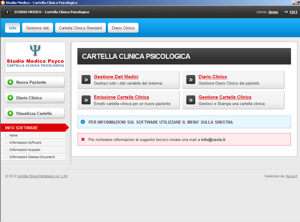 Software Cartella Clinica Psicologia