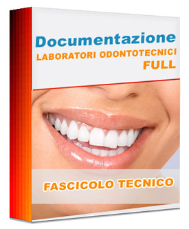 Software Fascicolo Tecnico Lab. Odontotecnico Full